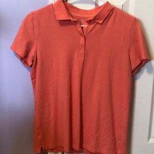 Women's Coral Short Sleeve Polo